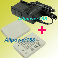 Battery + Charger Canon Powershot Elph SD900 SD 700 IS SD790 SD800 IS Digital