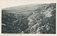 Cheyenne Co. KS * Scene with Tent and Car * ca. 1908