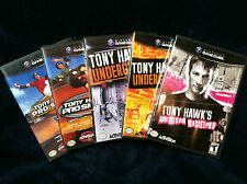 Tony Hawk's 3 4 Underground 1 2 American Wasteland 5 Game Cube Games (GC)