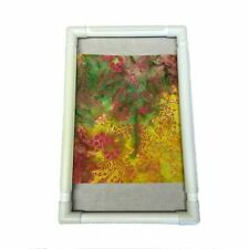 """R And R Universal Craft Frame Plastic 17"""" x 17"""" Embroidery Quilting Brand New"""