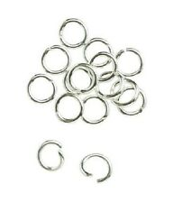 Jump Rings 25 Sterling Silver 4MM Open Jump Rings Jewelry Making Findings