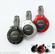 KIT VIVAVOCE TRASMETTITORE BLUETOOTH PER AUTO V 4.0 PER IPHONE CASSA SPEAKER MP3