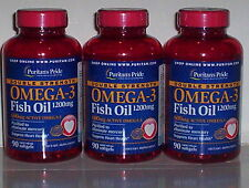 OMEGA-3 FISH OIL 1200MG DOUBLE STRENGTH 600MG ACTIVE OMEGA-3 HEART 270 SOFTGELS