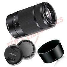 Sony 55-210mm F4.5-6.3 OSS E-Mount Telephoto Lens DSLR Cameras (Black)
