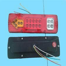 1x 12V 19 LED TRAILER TRUCK CARAVAN REAR TAIL BRAKE STOP INDICATOR LIGHT LAMP SA