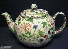 Heron Cross Pottery Hedgerow Chintz 6-8 Cup English Tea Pot