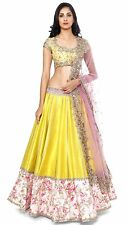 Top Selling Fogg Yellow New Designer Lehenga choli for Girls & Women.