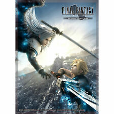 Final Fantasy Trading Card Sleeves - VII Advent Children A - Cloud/Sephiroth TCG