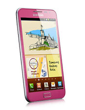 "5.3"" Unlocked Samsung Galaxy Note N7000 I9220 GSM 3G Cell Phone 16GB 8MP Pink"