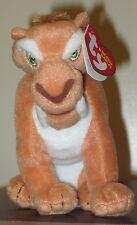 "Ty Beanie Baby DIEGO the 6"" Sabertooth Tiger (Ice Age 3 Movie) MINT w/ MINT TAGS"
