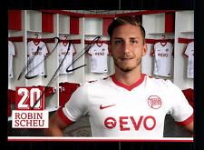 Robin Scheu Autogrammkarte Kickers Offenbach 2016-17  Original Sign+A 137883