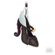 Disney Parks Authentic Little Mermaid Ursula Runway Shoe Ornament NEW Christmas