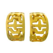 Zolotas 18k Gold Hoop Earrings