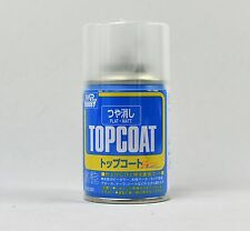 MR HOBBY TOP COAT SPRAY 86ml FLAT MATT CLEAR B503