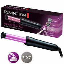 Remington CI2725 Anywhere Curls Hair Styling Tongs For women BAGGED ITEM