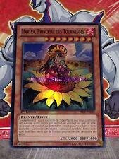 Carte Yu Gi Oh MARINA, PRINCESSE DES TOURNESOLS SHSP-FR040