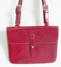 Preston&York Cross body Bag Dark Red Envelop Style 9.5x8x2.5""