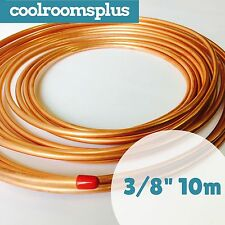 """3/8"""" 10M Copper Tube Pancake Coil Roll Air Conditioning Tube Refrigeration"""