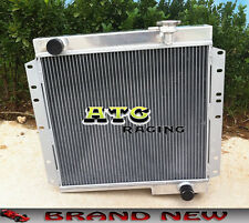 3 Core Aluminum Radiator for Toyota Land Cruiser FJ40 FJ45 Petrol GAS Landcruise