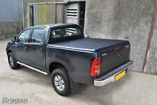 2012 - 2016 Toyota Hilux Tri Fold Soft Tonneau Cover 4x4 Accessories Non Drill