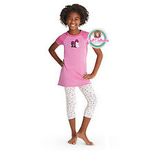 American Girl CL MY AG I LOVE PETS PAJAMAS S (7/8) for Girl Coconut Licorice NEW