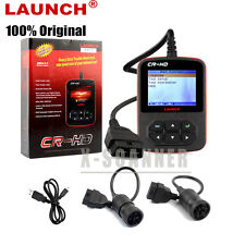 GENUINELAUNCH CR-HD HEAVY TRUCK DIAGNOSTIC TOOL SCANNER FOR CATERPILLAR KENWORTH