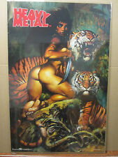HEAVY METAL 1999 ORIGINAL Vintage science fiction and fantasy movie Poster 1489