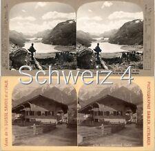 18 STEREOFOTOS SCHWEIZ SCHWITZERLAND SWISS Serie 4