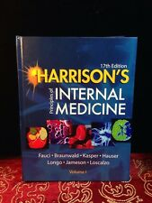 Harrison's Principles of Internal Medicine Vol 1 17th ED  Fauci Braunwald Kasper