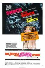 DR Jekyll And Sister Hyde Poster 01 Metal Sign A4 12x8 Aluminium