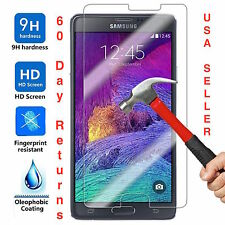 Premium Gorilla Tempered Glass Film Screen Protector for Samsung Galaxy Note 4