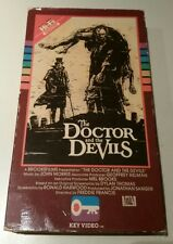 The Doctor And The Devils Horror VHS 1985 Key Video Timothy Dalton Julian Sands