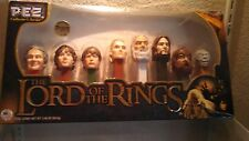 LORD OF THE RINGS LIMITED EDITION PEZ Collector Set 8 LOTR Candy Dispensers_NEW