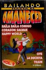 BAILANDO HASTA EL AMANECER- Vol. 2 - SPAIN CASSETTE MC 1998 - Happy World, Oye