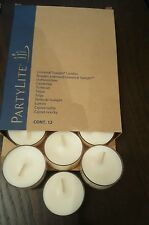 Partylite Holiday Spices Tealights 12 in a box