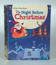 LF Little Golden Book 2001 The Night Before Christmas Clement C Moore