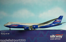 Hogan Wings 1:200 Boeing 747-8F SILKWAY Cargo No. 0120 + Herpa Wings Katalog