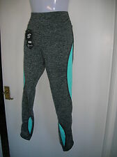 NEW LADIES GIRLS S/M  STRETCH LEGGINGS WORKOUT GYM KEEP FIT SPORTS RUNNING