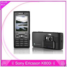 ORIGINAL Sony Ericsson Cyber-shot K800i Black 100% UNLOCKED Mobile Phone K800 3G