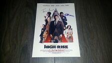 "HIGH-RISE CAST PP SIGNED 12""X8"" A4 PHOTO POSTER TOM HIDDLESTON LUKE EVANS"