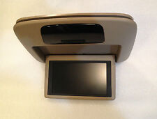 LEXUS GX470 DVD PLAYER SCREEN OVERHEAD MONITOR TAN LCD TV DISPLAY