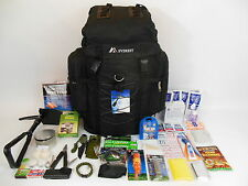 1 Person 3 Day Emergency Survival Kit Bug out Bag 72 Hour Zombie Black