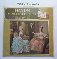TV 4055 - HAYDN - Concerti For Lira No 1, 3 & 5 HUGO RUF - Ex Con LP Record