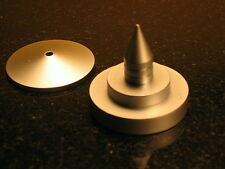 4 Pieces Professional Audio Equipment Metal Feet for Tube Amp and Turntable