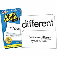 Sight Words Level 3 Skill Drill Flash Cards  - Dolch/Fry Words Build Vocabulary