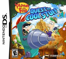 Phineas and Ferb Quest for Cool Stuff DS