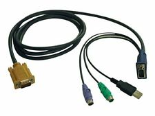 KVM USB/PS2 P778-015-keyboard/video/mouse Combo Cable-15 ft  - Imported