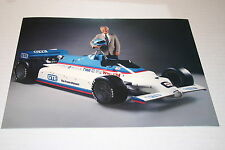 DUANE CARTER INDY 500 GTE THE FRONT RUNNER LARGE 8.5 X 11 FULL COLOR POSTER CARD