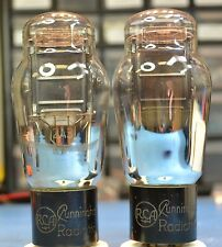 RCA 2A3 SINGLE PLATE SET TRIODE PERFECT MATCH PAIR- NEW INTERNATIONAL SHIPPING $