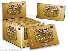 YuGiOh! Premium Gold 2: European 1st Edition : Brand New and Sealed Box x5 Packs